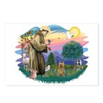St Francis #2/ Silky (B) Postcards (Package of 8)