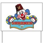 Proud Shrine Clown Yard Sign