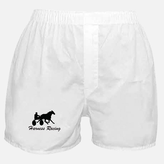 Harness Racing Silhouette Boxer Shorts