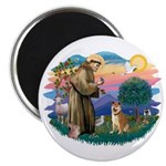 St Francis #2/ Shiba Inu Magnet