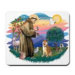 St Francis #2/ Shiba Inu Mousepad