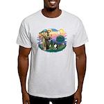 St Francis #2/ Sheltie (tri) Light T-Shirt