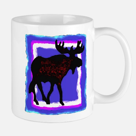 Framed Moose Mug