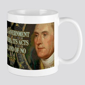 Thomas Jefferson on Undelegat Mug