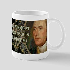 Thomas Jefferson on Undelegat Mug