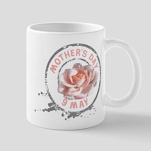 Mothers Day Rose Stamp Mug