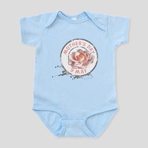 Mothers Day Rose Stamp Infant Bodysuit