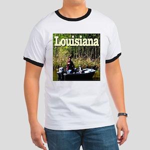 Louisiana Fisherman Ringer T