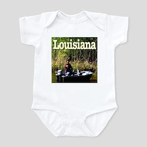 Louisiana Fisherman Infant Bodysuit