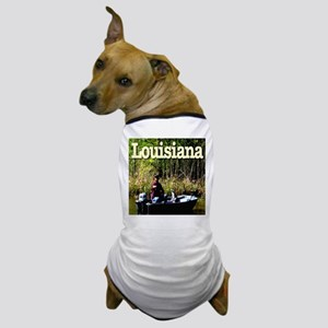 Louisiana Fisherman Dog T-Shirt