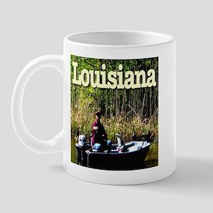 Louisiana Fisherman Mug