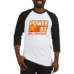 Wplj Power 95 955 Plj Tee Baseball Jersey