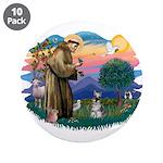 St Francis #2/ Schnauzer #1 3.5