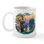 St Francis #2/ Schnauzer #2 Mug