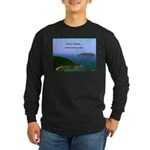 Heaven Long Sleeve Dark T-Shirt