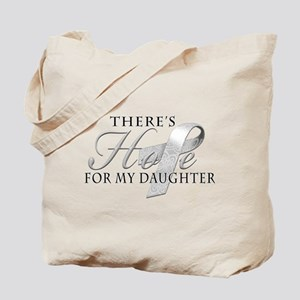 There's Hope for Diabetes Daughter Tote Bag