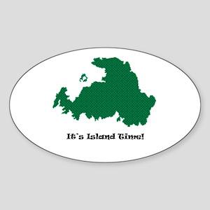 Drummond Island Life Sticker (Oval)