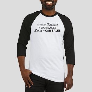 Whatever Happens - Car Sales Baseball Jersey