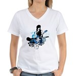 Song Women's V-Neck T-Shirt