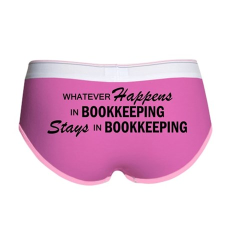 Whatever Happens - Bookkeeping Women's Boy Brief