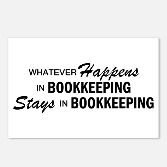 Whatever Happens - Bookkeeping Postcards (Package