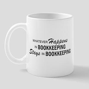 Whatever Happens - Bookkeeping Mug