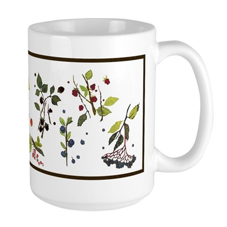 woodland fruits Large Mug