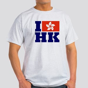 I Love HK Light T-Shirt