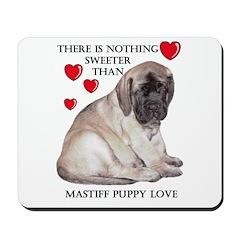 Mastiff Fawn Puppy Love Mousepad