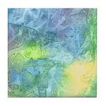 Undersea Luminescence Tile Coaster