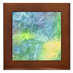 Undersea Luminescence Framed Tile