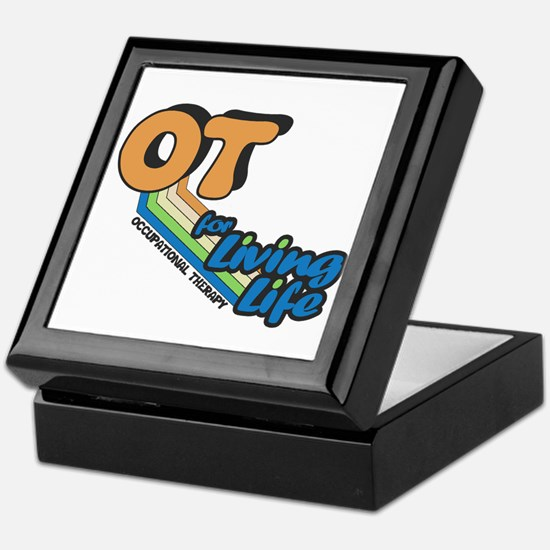 OT For Living Life Keepsake Box