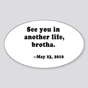 LOST Final Episode Sticker (Oval)
