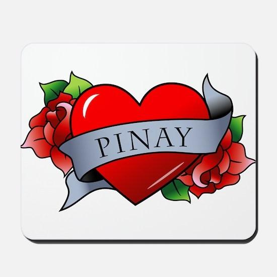 Heart & Rose - Pinay Mousepad