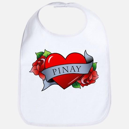 Heart & Rose - Pinay Bib