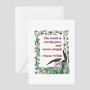 Wild About Truth Greeting Card