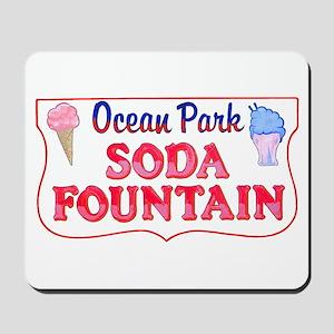 Ocean Park Soda Fountain Mousepad