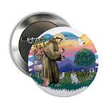 "St Francis #2 / 2.25"" Button"