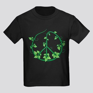 Green Peace Kids Dark T-Shirt