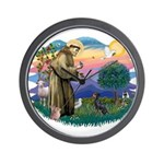 St Francis #2/ Manchester T Wall Clock