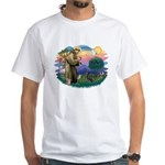 St Francis #2/ Manchester T White T-Shirt