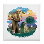 St Francis #2/ Sloughi Tile Coaster
