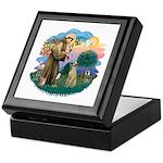 St Francis #2/ Sloughi Keepsake Box