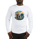 St Francis #2/ Sloughi Long Sleeve T-Shirt