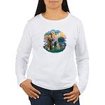 St Francis #2/ Sloughi Women's Long Sleeve T-Shirt