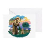 St Francis #2/ Lakeland T Greeting Cards (Pk of 10