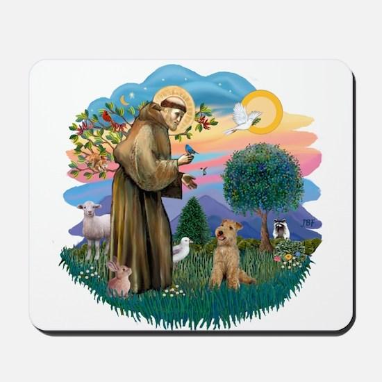 St Francis #2/ Lakeland T Mousepad