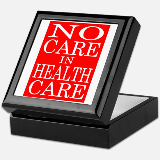 HEALTH CARE Keepsake Box