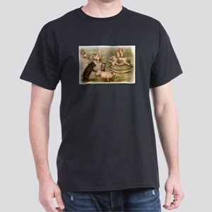 PLAYING PIGS Dark T-Shirt