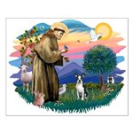 St Francis #2/ Boston T #1 Small Poster